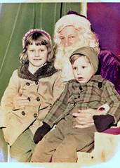 December, 1964 (ethel the chicken) Tags: santa christmas december indiana departmentstore hammond 1964 goldblatts