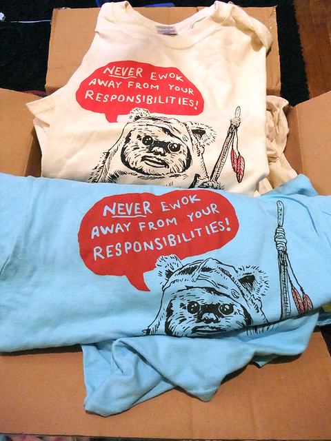 Motivational Ewok T-Shirts!