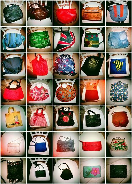 All my bags; handbag, bag, purse, tote, messenger, clutch
