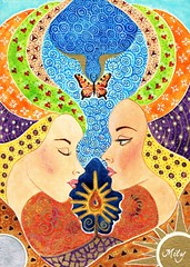 The Crest of the Soul II (Milagritos9) Tags: artwork handmade visualjournal spirituality spiritual watercolours symbolism journalpages mily visualdiary milagritos mysticart illustratedjournal artmoleskine inspirationaljournal milycha spiritualjournal spiritualillustration diarioespiritual illustracionesmsticas