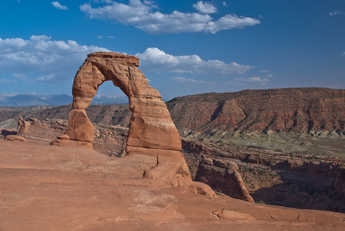 Delicate Arch before sunset