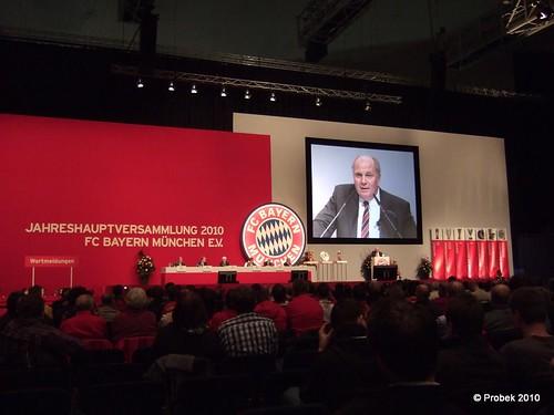 Jahreshauptversammlung 2010 FC Bayern München e.V.