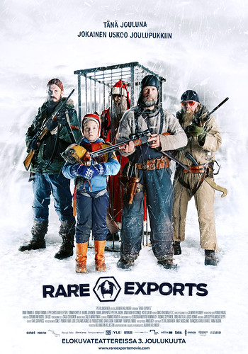 Rare Exports (official poster, fi)