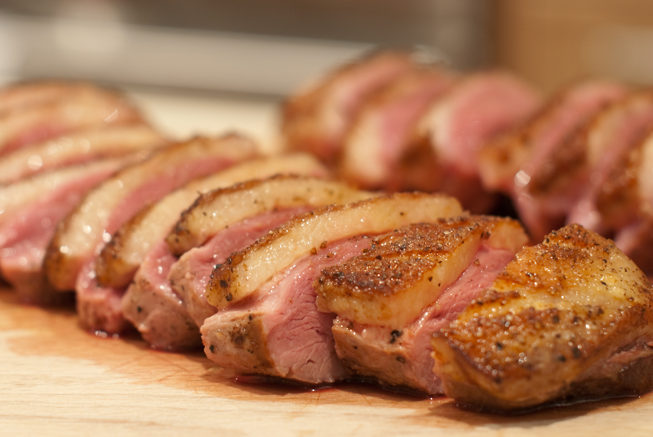Pan-Sauteed Quebec Moulard duck breast