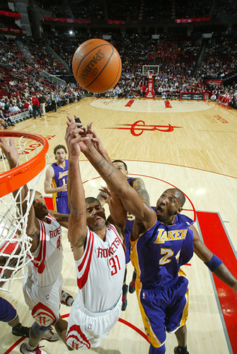December 1st, 2010 - Shane Battier defends against Kobe Bryant