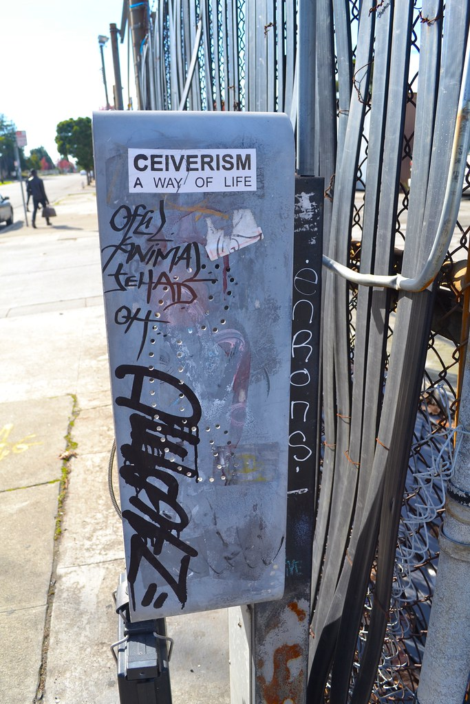 CEIVERISM A WAY OF LIFE, Street Art, Graffiti, Oakland, DESTN, ENRONS, OFEL, POP, TFL, 640
