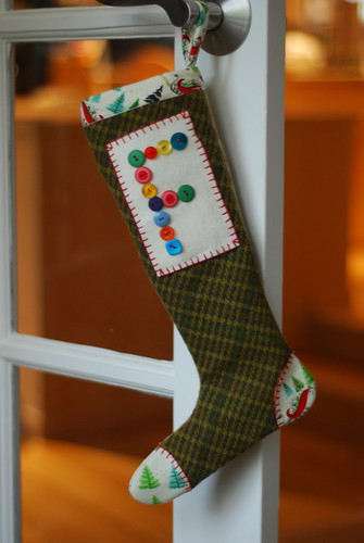 a stocking for Finn