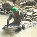 Panning for gems, Pailin, Cambodia