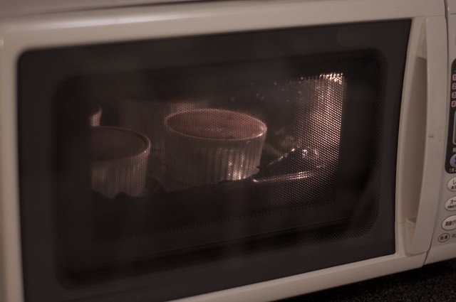 Soufflé in the oven
