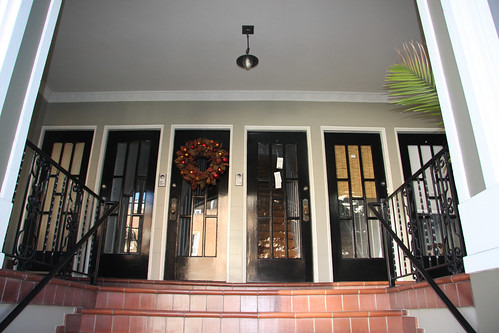 One door per apartment
