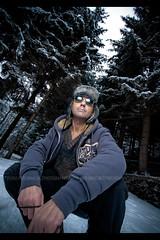 49/52 (Paolo Martinez) Tags: portrait selfportrait hat self frames paolo outdoor flash 1022mm oropa 52weeks peopleenjoyingnature flashoutdoor