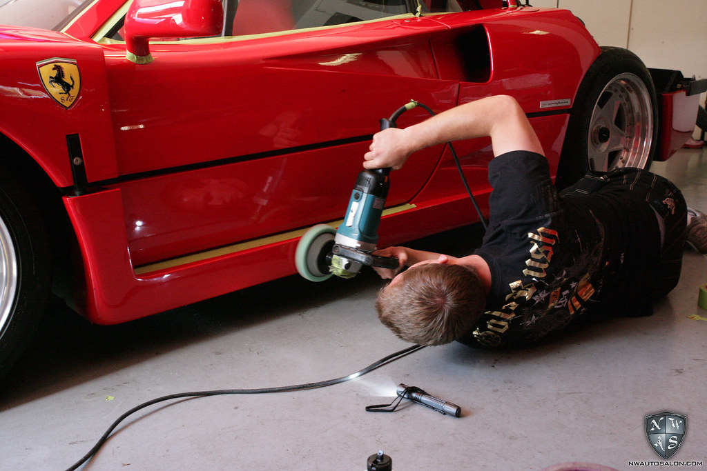Ferrari F40 Red Detail NWAS naitovephoto