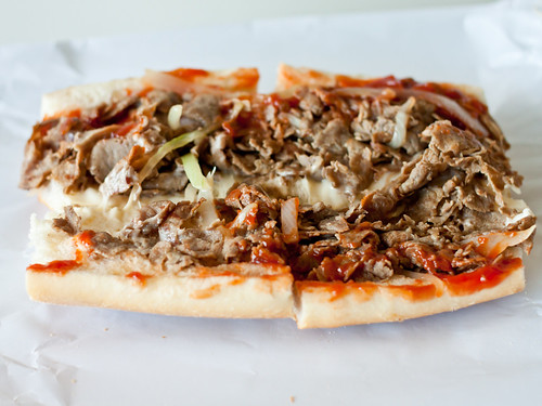 Plain cheesesteak