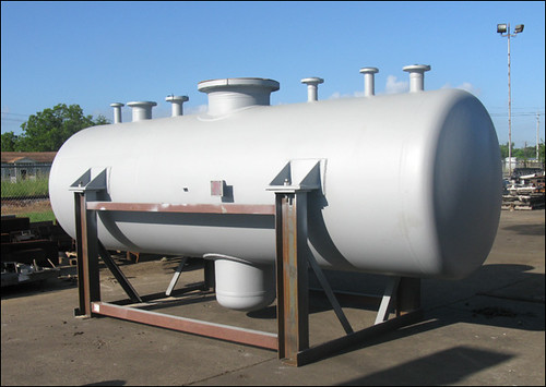 Submarine Drum Vessel for a Chemical Plant in Beaumont