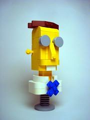 Professor Frink (Profound Whatever) Tags: lego thesimpsons professorfrink fredoichi hellmakeyoulaughhellmakeyouthink