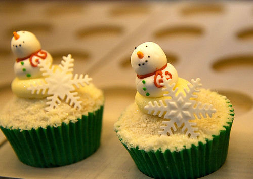 thecupcakecollection snowman