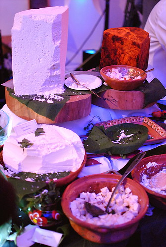 The Table of Mexican Cheeses From La Casita