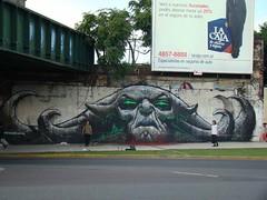 MAGMA EN TODO SU ESPELDOR (emy mariani) Tags: mural arte emy pintura mariani callejero