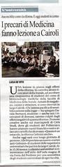 Repubblica 10/12/10 (biotecnologie.mediche) Tags: università 9 protesta piazza dicembre ricerca 2010 lezione studenti repubblica articolo stampa informativa rassegna gelmini