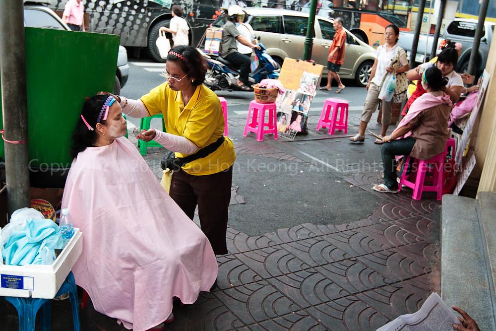 Street Facial @ Bangkok, Thailand