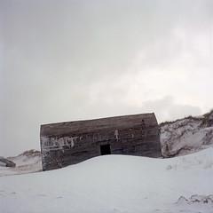 Bunker (claus peder) Tags: film denmark kodak wwii mat bunker 124g analogue portra yashica atlanticwall 400nc yashinon autaut vigsø