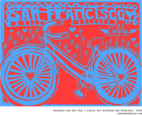 Bikes and the City for Artcrank 2010