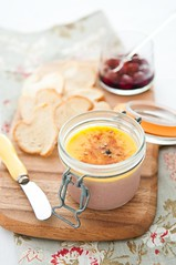 Chicken Liver Parfait (silverlily) Tags: food chicken cooking cherries nikon paddle cook pot homemade jar biscuits athome homecooking liver pate parfait imadeitmyself homecook d90 1755mm marello liverparfait littlepotofparfait