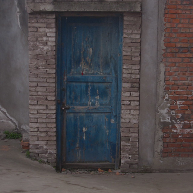 Blue Door, Yuanchi, Sichuan