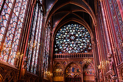 Sainte Chapelle from Paris-06 (christian_jacquet) Tags: windows paris france church louis flickr king catholic religion gothic 9 stainedglass saintlouis blanche gothique chapelle saintechapelle roi 1242 architecte vitraux moyenage castille catholique architec 1248 pierredemontreuil royaute middleadge