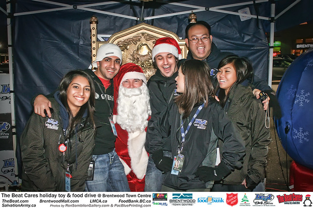 The BEAT CARES holiday food and toy drive at Brentwood Town Centre photos by Ron Sombilon Gallery (574) by Ron Sombilon Gallery