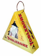 Toblerone Christmas Transparent Pack