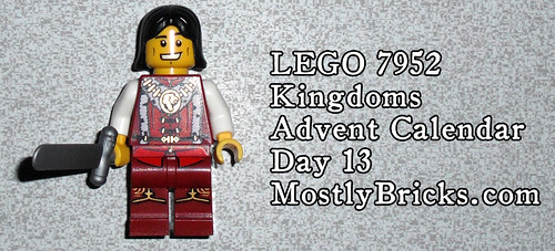 LEGO 7952 Kingdoms Advent Calendar – Day 13
