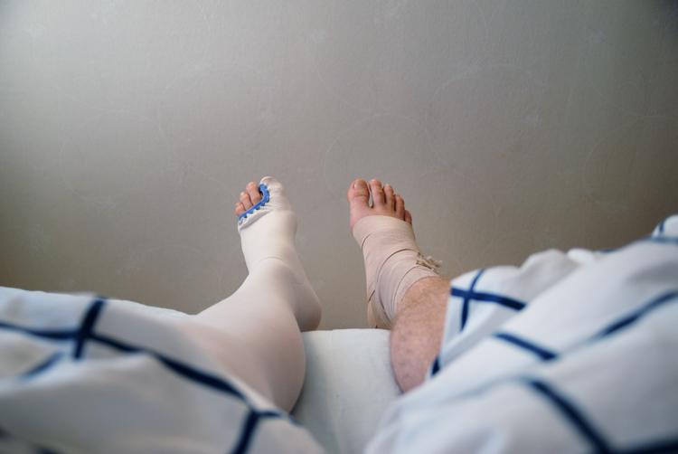 Me feet