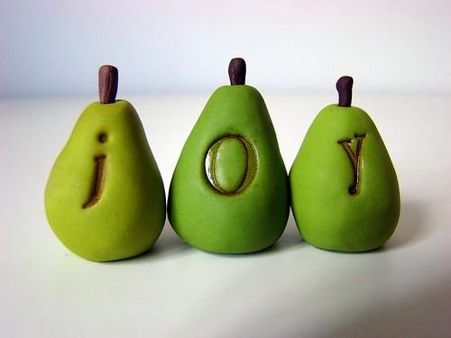 joyful pears