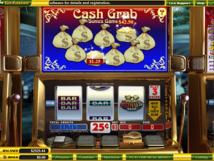free Cash Crab slot bonus game