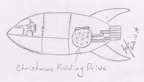 Christmas Pudding Drive - Space