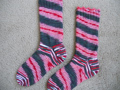 My Xmas socks finished
