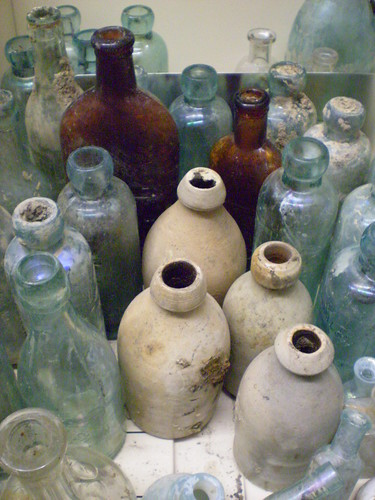 early Canadian glass bottles