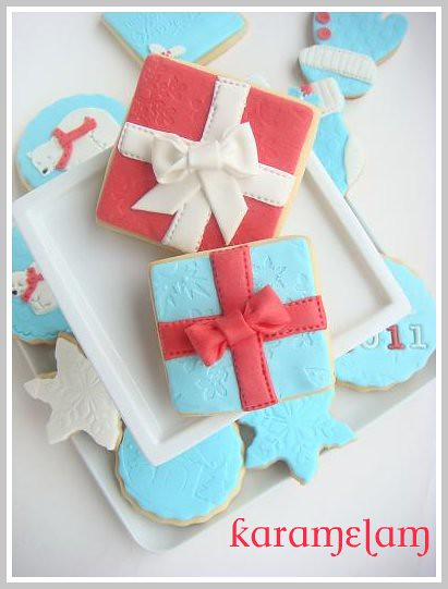 giftbox cookies