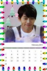 Calendar2011_Hyun Bin_February_Secret garden กุมภาพันธ์์ 2554