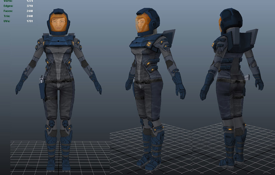 Female Space Suit Art - Pics about space