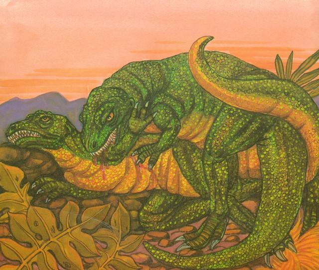 Allosaurus Cannibalism