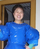 mary (little miss maids inflatable costumes and dresses) Tags: masturbation pvc rubbersuits inflatableclothing