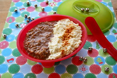 holiday rice pudding (sevenworlds16) Tags: christmas dessert holidays yum rice cinnamon pudding nutella bowls epic spoons 2010 ricetoriches