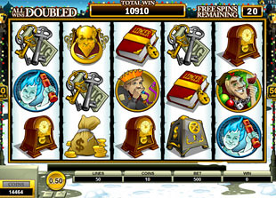 free Scrooge free spins feature