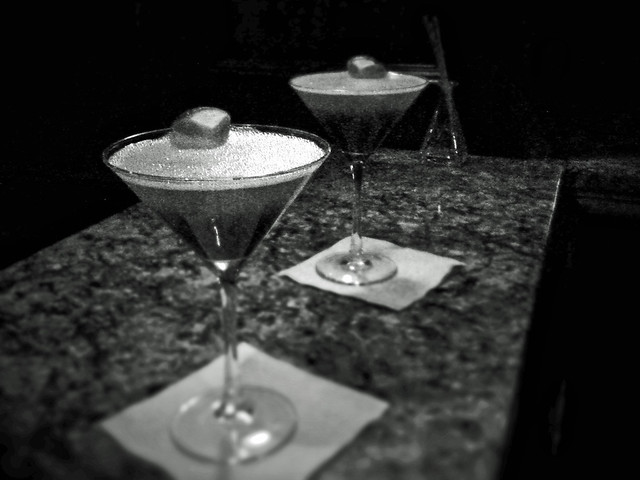 Martinis at Town & Country.