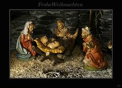Frohe Weihnachten (wigerl - herwig ster) Tags: weihnachten christ maria jesus kings josef krippe knige sonyalpha700