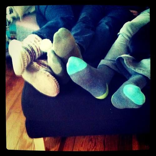 Xmas feets