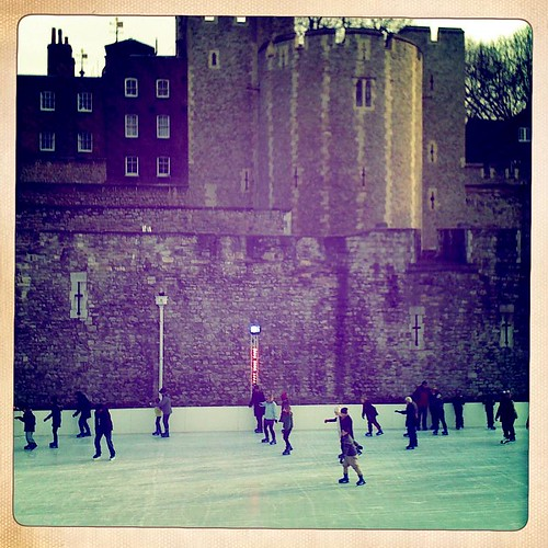 Christmas Eve Ice Skating at Tower London