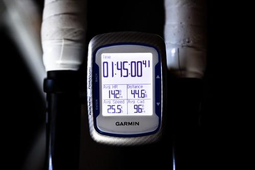 105min 44.6km ave25.5